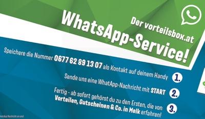 WhatsApp-Service ist gestartet!